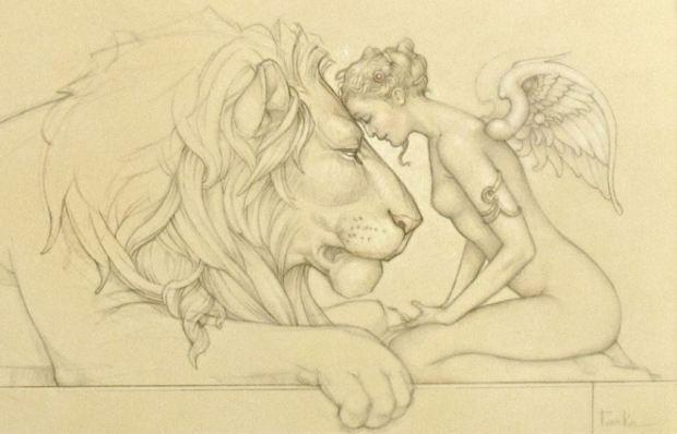 parkes-buy-lions-meditation-art-michael-coast